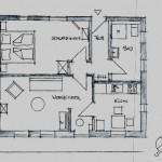Haushälfte Ferienwohnung Grundriss
